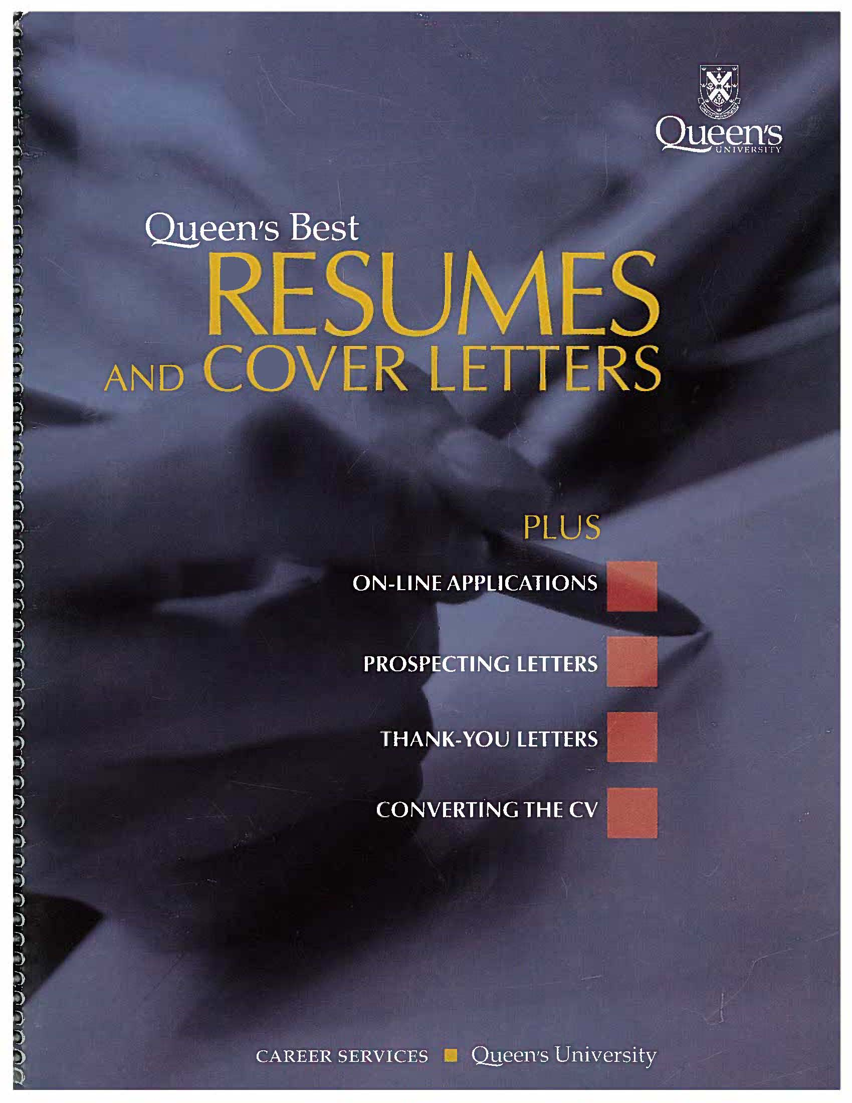 cover of Queen's Best Resumes